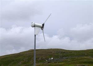 Gauging public opinion on small wind turbines