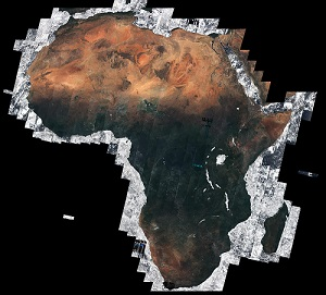 Satellites And Hightech Solutions Help African Farmers Face - Map through satellite