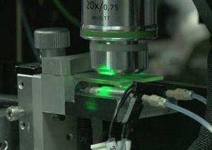 New laser to watch DNA-proteins interactions