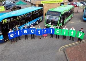 Going Green: Nottingham's hi-tech transport becomes EU model